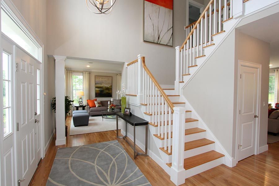 Model Home Foyer Pictures : Fortune ridge at southeast the aria